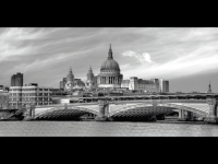 Blackfriars Bridge & St Pauls - John David