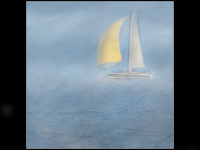 Yacht in the Mist - Pat Frewin