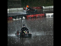 Night Racers In A Downpour - Trevor Sadowski